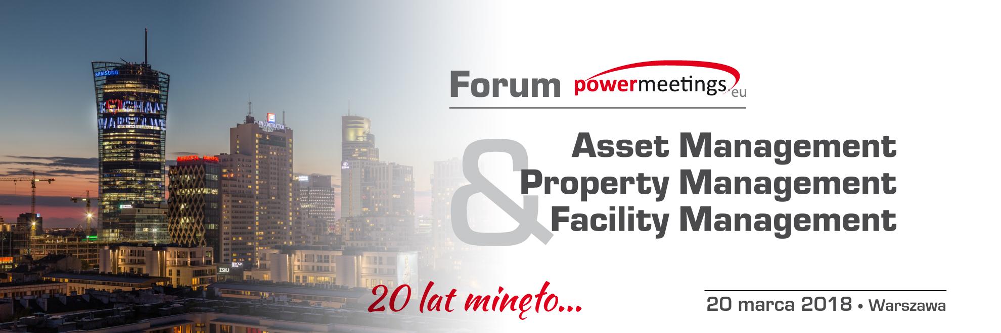 Informacje organizacyjne: Forum AM&PM&FM 20 marca, Warszawa