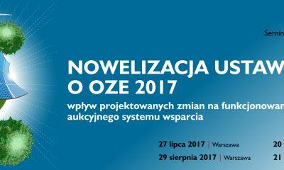 Sejm znowelizował ustawę o OZE