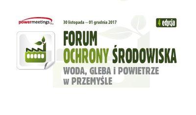 IV Forum Ochrony Środowiska już za tydzień – ostatnie dni rejestracji!