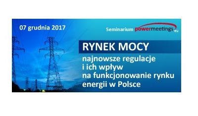 Przyjęto poprawki do projektu ustawy o rynku mocy