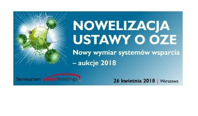 Wiadomo, jakie będą warunki tegorocznych aukcji OZE