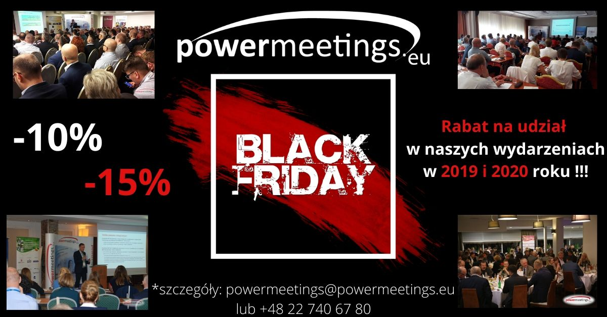 BLACK FRIDAY w powermeetings.eu ❗❗