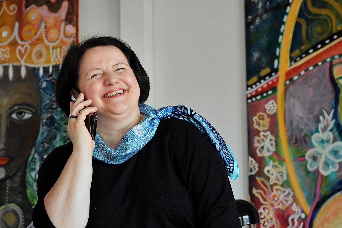 Ewa Gizicka-Fuks z Danii prelegentem podczas Summitu