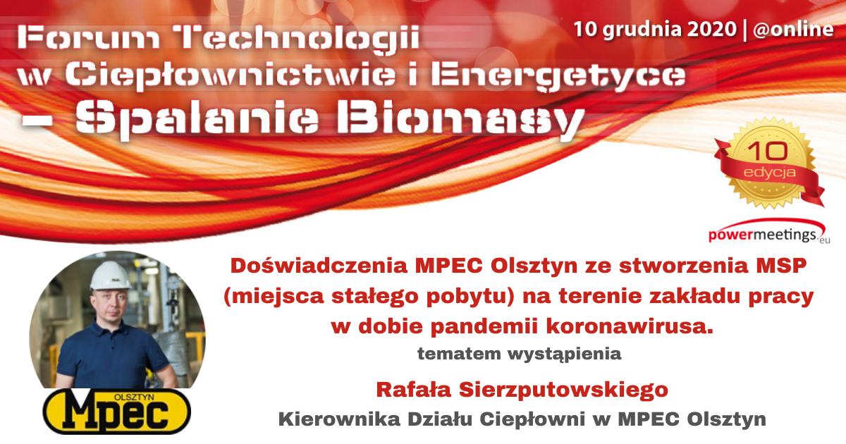 MSP miejsce stałego pobytu na terenie zakładu na przykładzie MPEC Olsztyn