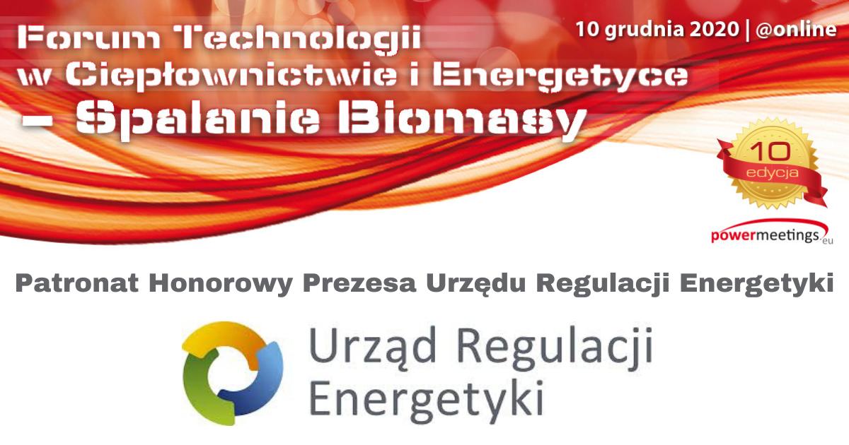 Prezes Urzędu Regulacji Energetyki Patronem Honorowym Forum