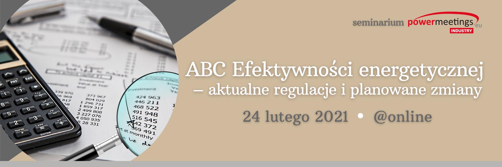 ABC Efektywności energetycznej w praktyce luty 2021