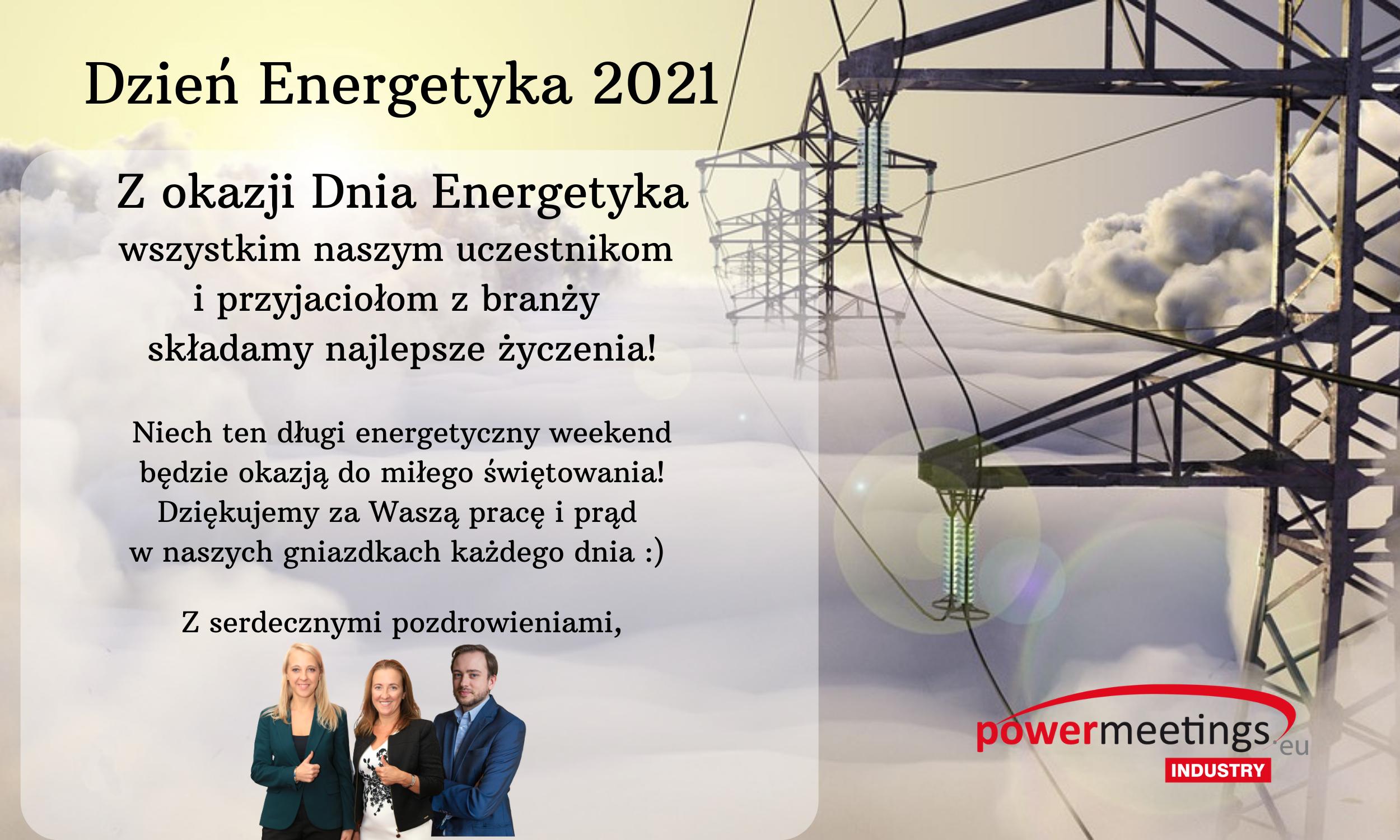 Najlepsze życzenia na Dzień Energetyka od powermeetings.eu!