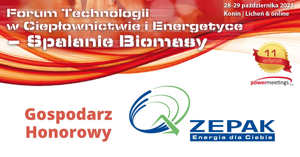 ZE PAK Gospodarzem Honorowym jesiennego Forum Biomasy