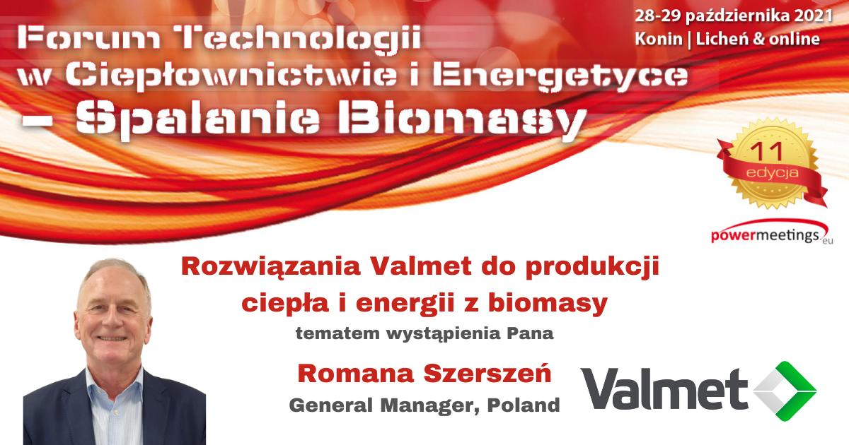 Rozwiązania Valmet do produkcji ciepła i energii z biomasy